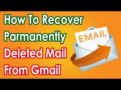 How To Recover  Permanently Deleted Mail From Gmail?