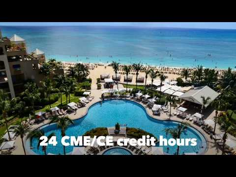 Recharge, relax and earn 24 CME/CE credit hours