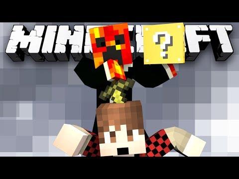Minecraft Modded Minigame: LUCKY SKY BLOCK! - (Lucky Block Mod)