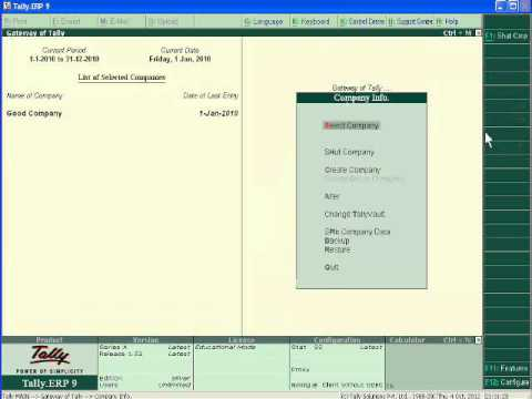 How to Import Data in Tally - Tally.ERP 9 ( Part 64)