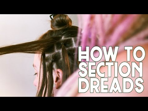 How To Section Dreadlocks