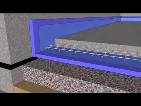 Basement Floating Slab in 4D