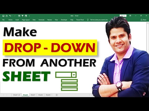 how to create drop down list from another sheet in excel || Hindi | using data validation