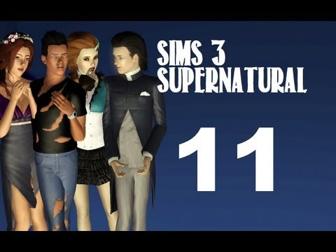 Let's Play: The Sims 3 Supernatural - (Part 11) - Werewolf Curse w/Commentary