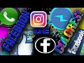 FACEBOOK,WHATSAPP,MESENGER E INSTAGRAM DE COLORES! |