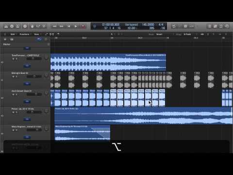 Logic Pro X Create a Beat Build