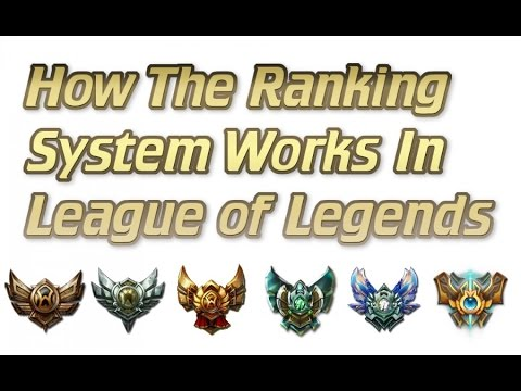 How The Ranking System Works In League of Legends | Provisional Games and MMR Explained