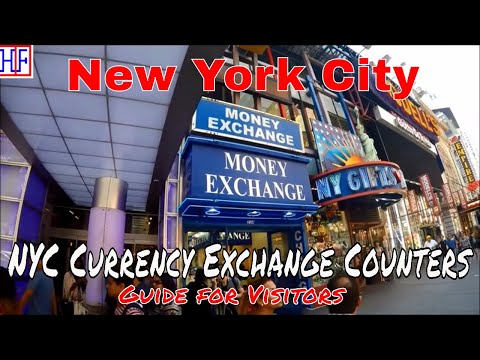 New York City (NYC) | Currency Exchange | Tourist Information | Episode# 4