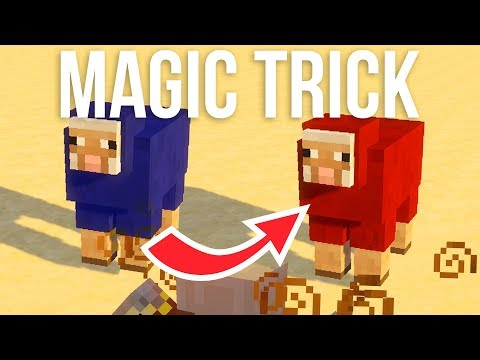 A Magic Trick In Minecraft