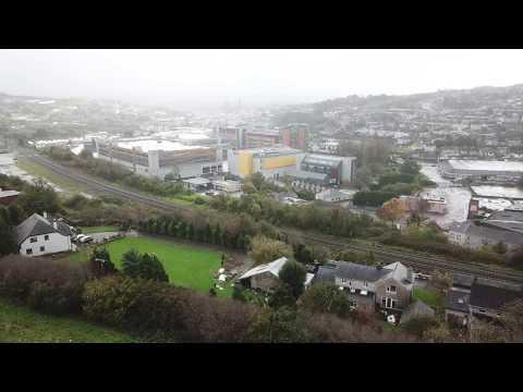Cork - Blackpool -Hurricane Ophelia - almost crashed Mavic Pro