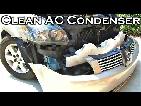 How To Clean Car's AC Condenser