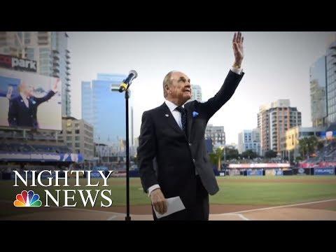 Sports Broadcasting Legend Dick Enberg Dies At 82   NBC Nightly News