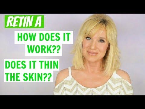 Anti-Aging RETIN A / Retinol BASICS! Does It Thin the Skin?