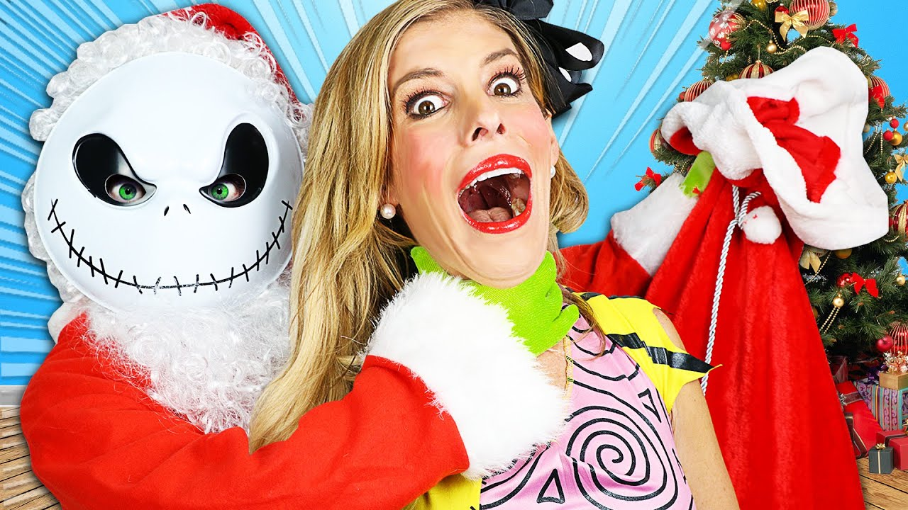 Worst Nightmare Before Christmas Surprise Party!  Rebecca Zamolo
