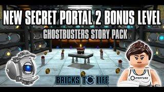 New Secret Portal 2 Bonus Level In Ghostbusters Story Pack Lego Dimensions Wave 6