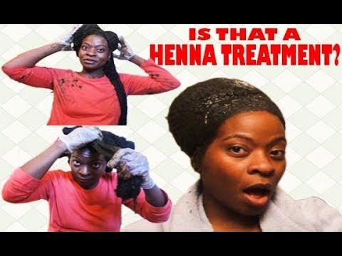 Natural Hair Henna Treatment