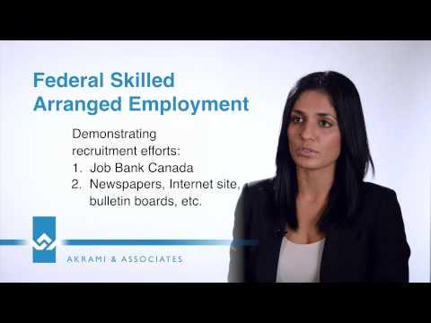 Federal Skilled Arranged Employment