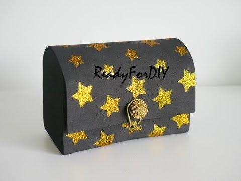 DIY Jewelry Box In 5 Mins Using Foam Sheet - Easy No Sew