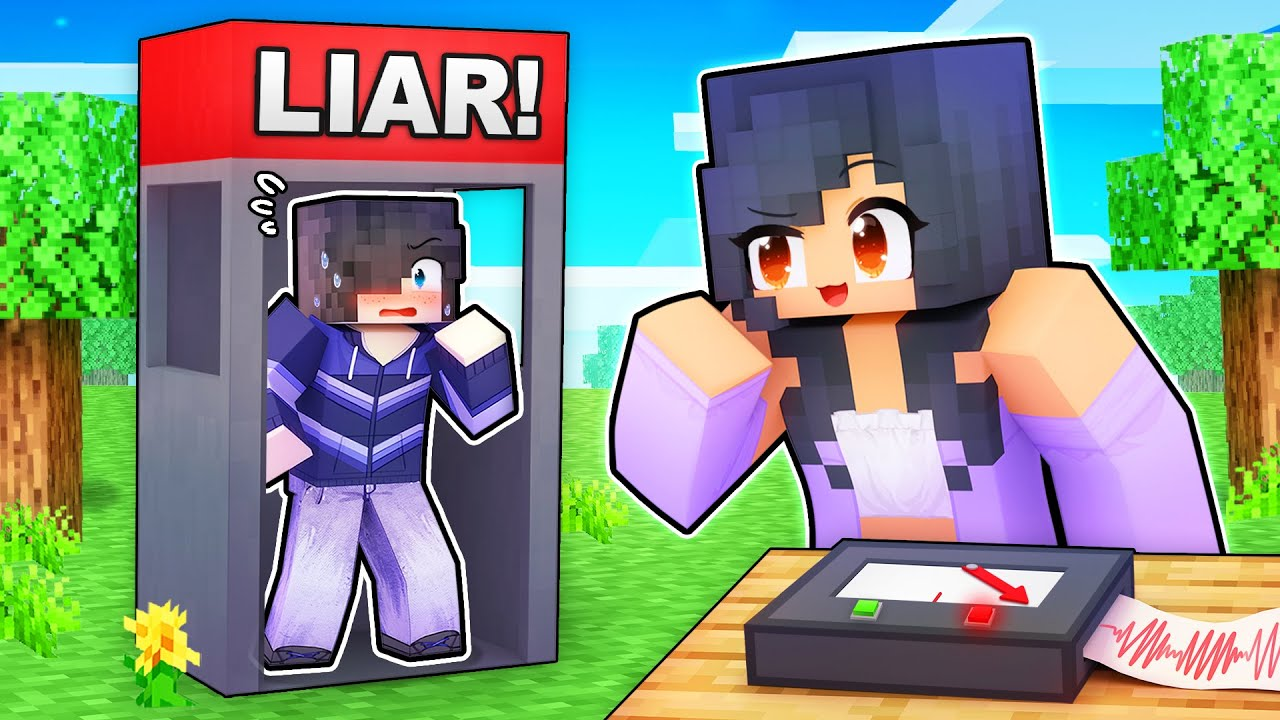 Using a LIE DETECTOR on my Friends In Minecraft!
