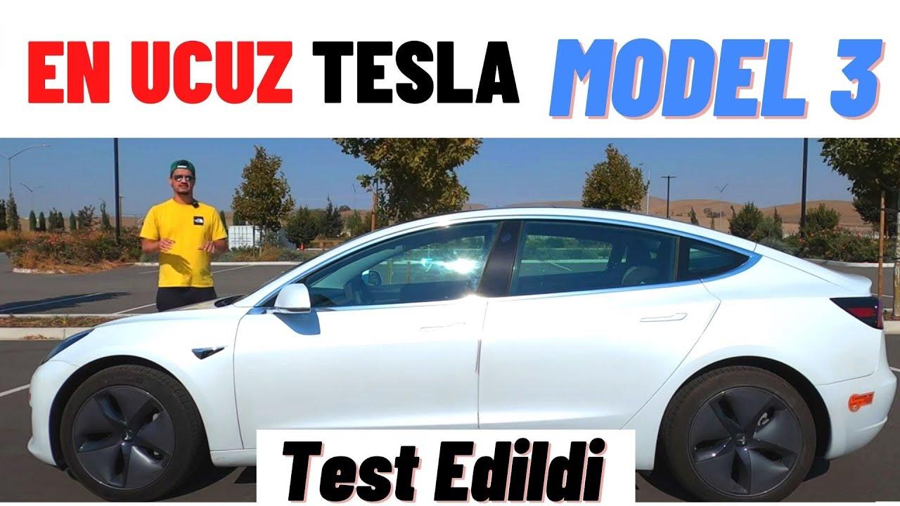 Tesla Model 3. En ucuz Tesla modeli. Otomobil inceleme, Tanıtım ve test sürüşü