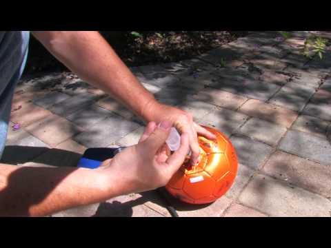 30 Second Soccer Ball Repair!