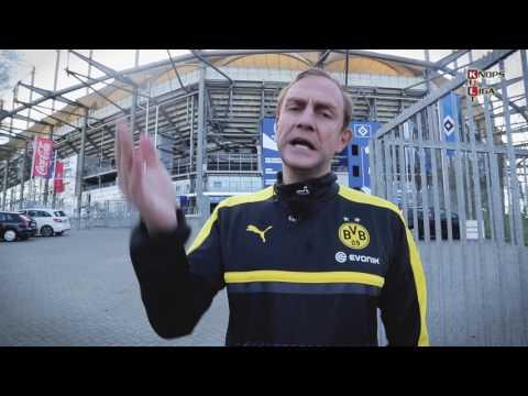 BVB-Coach Tuchel spioniert im Volksparkstadion des HSV