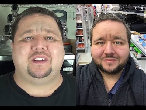 50kg weight loss & 500,000 subscribers