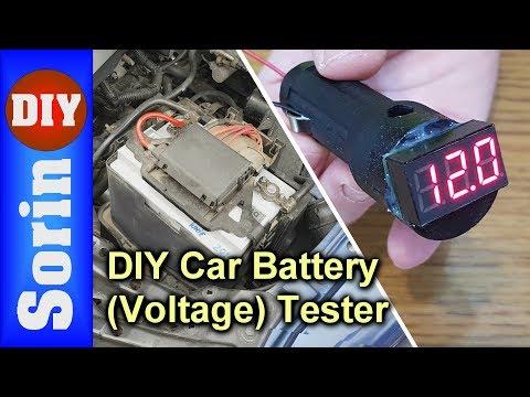 DIY - Car Battery (Voltage) Tester - 12V socket