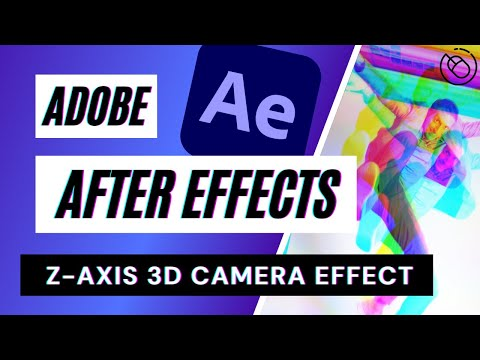 3D Camera Z-Axis After Effects Tutorial