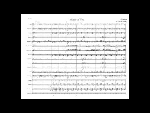 Shape of You - Marching Band Arrangement