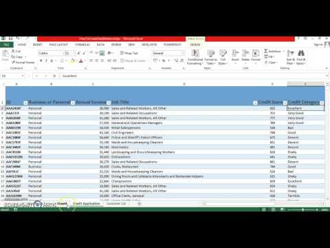 How To Create Data Relationships in Excel 2013