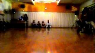 Apresentação Diego Borges e Jessica Pacheco - Swing Curitiba - Baile 8 Tempos