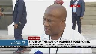 ANC welcomes SONA postponement - Jackson Mthembu