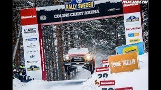 Leg 2 - Top Moments - 2018 WRC Rally Sweden - Michelin Motorsport