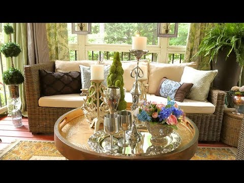 Outdoor Spaces  2018 | Good Will Decorating for under $50