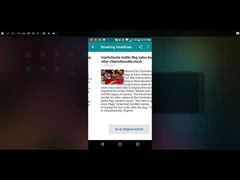 📰Breaking News Headlines ⚠️Alerts App - How To Browse Headlines