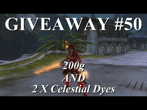 [OVER] 200g & 2 x Celestial Dyes Giveaway  |  Weekly Giveaway#50  |  Guild Wars 2