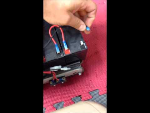 How to replace Bruno SRE - 2750 stair lift batteries
