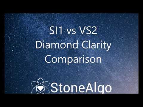 SI1 vs VS2 Diamond Clarity Comparison