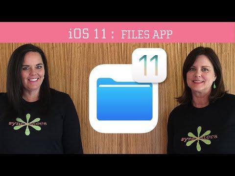 iOS 11 -  Files App