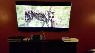 "Samsung 55"" Q7C QLED Review in progress QN55Q7C"