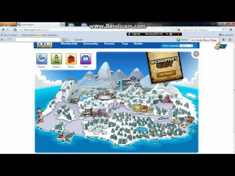 how to look like rockhopper on club penguin