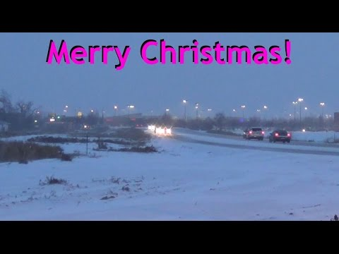 First Snow Is Here in Idaho... Zaxtor99 Wishes All of You A Very Merry Christmas!