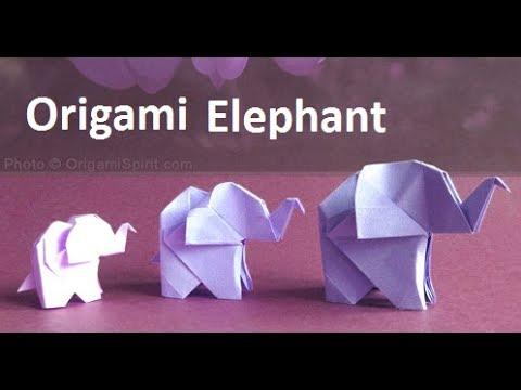 Origami Elephant:Amazing Paper Elephant Making Step-by-Step|Origami Elephant Craft Ideas