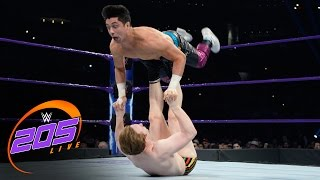 Gentleman Jack Gallagher vs. TJ Perkins: WWE 205 Live, April 11, 2017