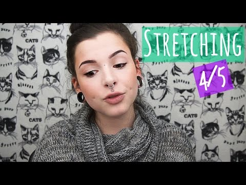 Ear Stretching (4 of 5) || How to tape your ears!