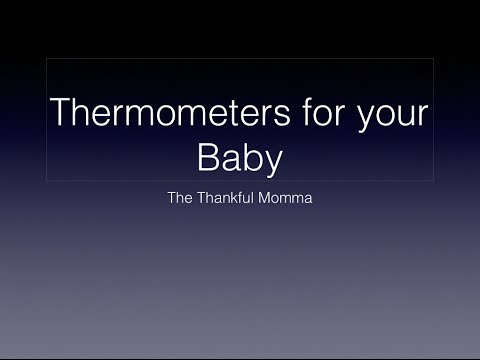 Thermometers for Babies
