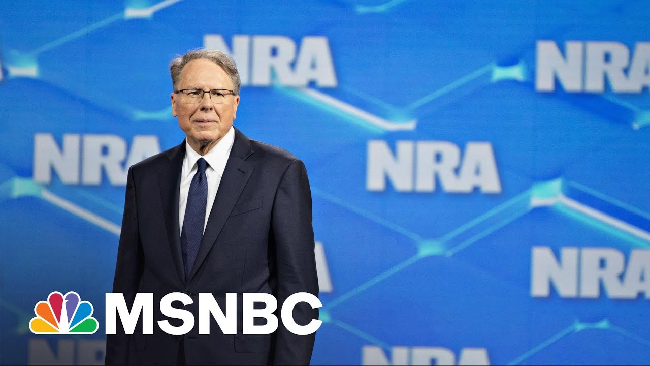 NRA Fights To Declare Bankruptcy As NY AG Lawsuit Threatens To Dissolve Organization | Rachel Maddow