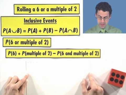 Thinkwell's College Algebra: Inclusive Events