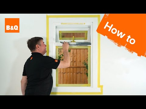 How to paint a window